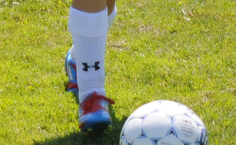 DMS11 - Youth Soccer in Ventura County | Girls Game and Training Gear - Game Socks - White or Black